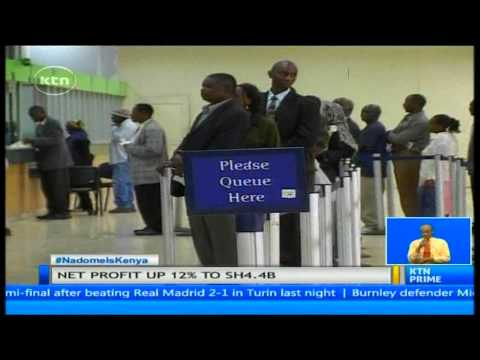 KCB announces 12 percent growth in net earnings in first quarter banking results