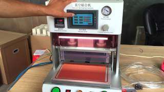 Big LCD Glass OCA Laminating Machine