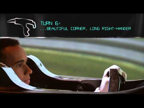 F1 2014: Belgian Grand Prix - Preview Video - Lewis Hamilton - Simulator