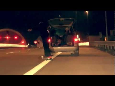 FreezGang Project X - Highway Tunnel Longboarding