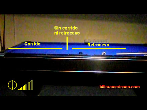 Tutorial Billar Americano - El Retroceso