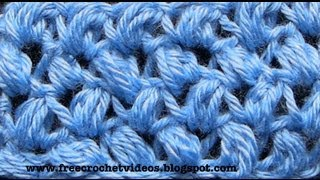 Crochet Bean Stitch
