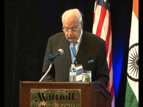 Farooq Abdullah - Guest of Honor at U.S.-India Energy Partnership Summit 2013