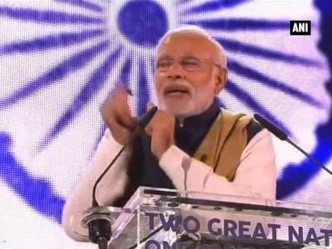 Modi woos Indian diaspora, announces direct flight from Ahmedabad to London (Part - 2)