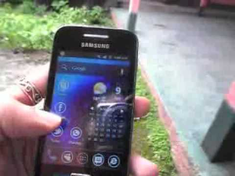 Samsung Galaxy Ace (GT-S5830M) Holo Launcher mas Avisos y Review
