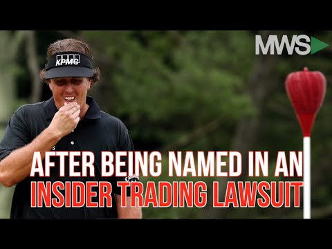SEC: Phil Mickelson involved in insider trading lawsuit