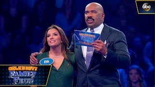 download lagu Eva Longoria Plays Fast Money - Celebrity Family Feud gratis