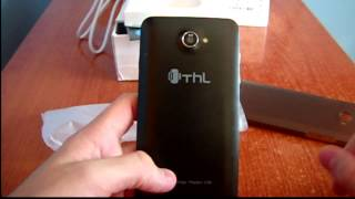 thl W200 unboxing:smartphone chino