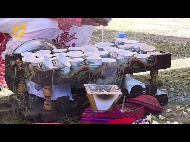Fana Television | Coffee Ceremony Held In Mesqel Square