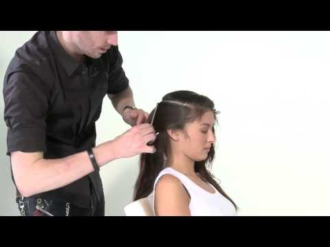 Видеоурок стрижки волос - видео