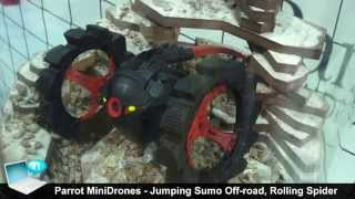 Parrot MiniDrones Jumping Sumo offroad Rolling Spider edizione 2015
