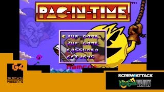 ScrewAttack's Video Game Vault - Pac in Time (SNES)