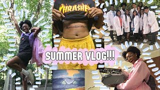 SUMMER VLOG: My First Tattoo, Updates, & Too Much Shopping!!!!🌟