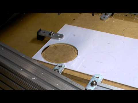 Homemade DIY CNC Mill - Cutting Plastic Parts For Dad - Neo7CNC.com