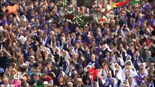 Saludo del papa Francisco a los peruanos en la Plaza San Pedro