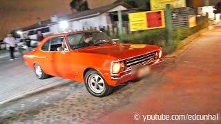 Chevrolet Opala 6cc Aspirado acelerando e saindo de lado!