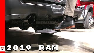 2019 Ram 1500 Multifunction Tailgate and Ram Chassis Cab
