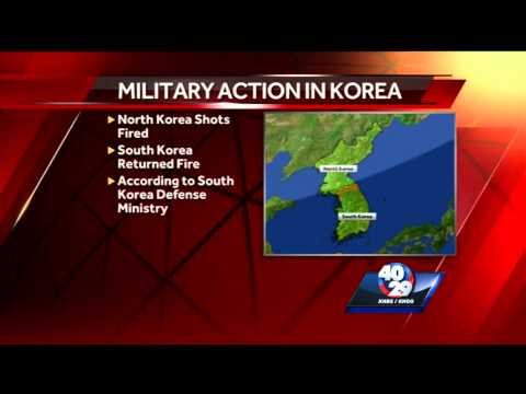 Breaking News: Shots fired between North and South Korea