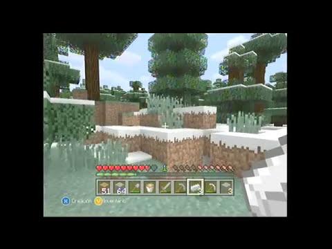 minecraft supervivencia extrema #3 al interior de la mina