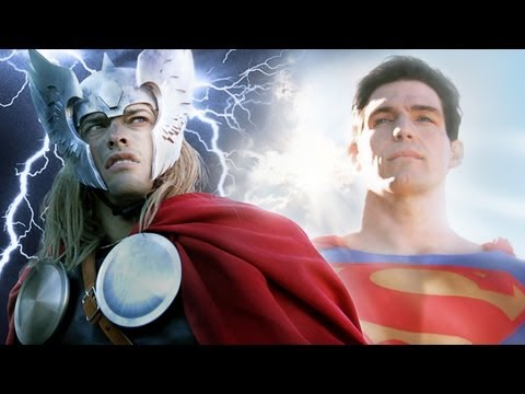 SUPERMAN vs THOR - Super Power Beat Down (Episode 7)