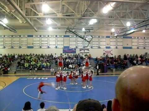 Rochester Middle School Cheer Off 7th Grade Stunt Cheer
