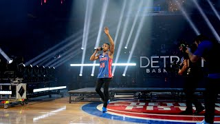I PERFORMED AT MY FIRST STADIUM AT THE DETROIT PISTONS HALFTIME!! (20,000 People 😭) **Emotional**