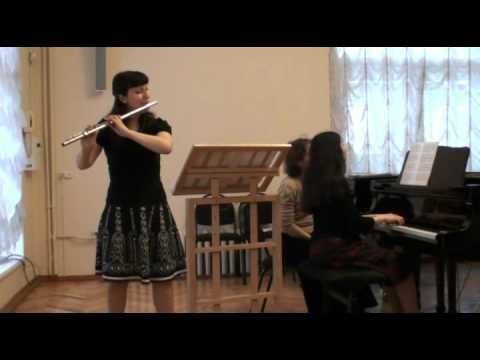 Хиндемит, Пауль - Соната для флейты и фортепиано