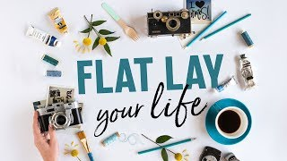 Choose and Arrange Props for Instagram | Beautiful Flat-lay Photography 📷