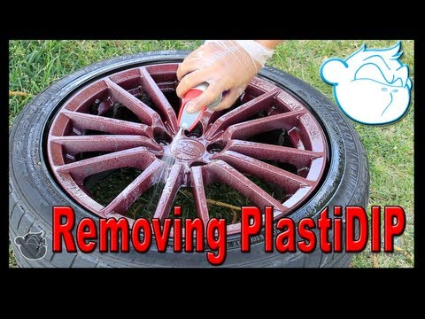 How to Remove Plasti Dip From your Rims