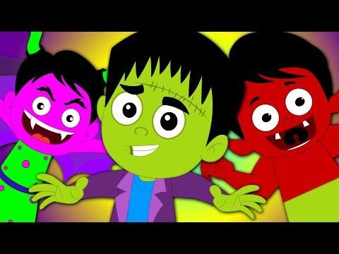 Hello It's Halloween | Nursery Rhymes For Kids | Halloween Songs | Kids Tv Nursery Rhymes