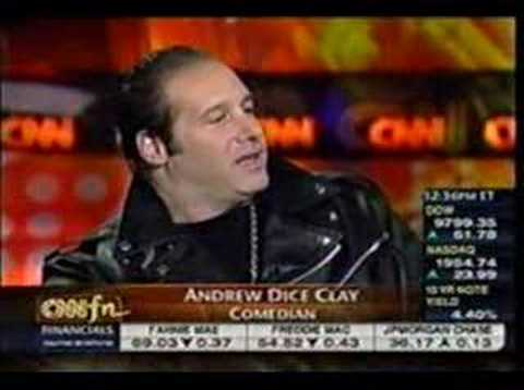 Andrew Dice Clay Gives CNN **** Video