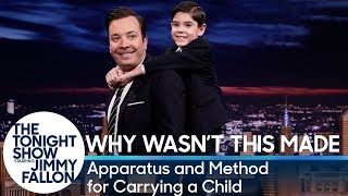 Why Wasn't This Made?: Apparatus and Method for Carrying a Child