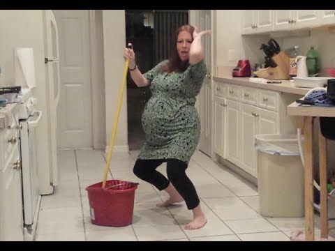 Pregnant Lady Twerks Til Her Water Breaks Too Funny video