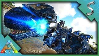 ALPHA MEGAPITHECUS DEFEATED! TEK REX LASER SADDLE!- Ark: Survival Evolved [S4E87]