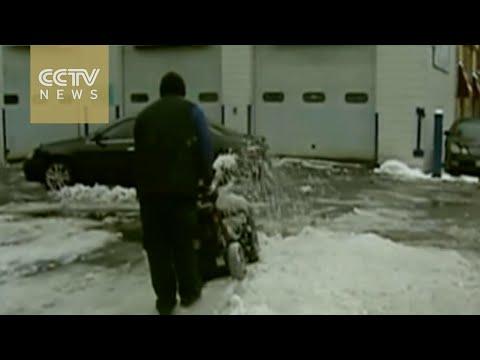 Eastern U.S. awaits massive snowstorm