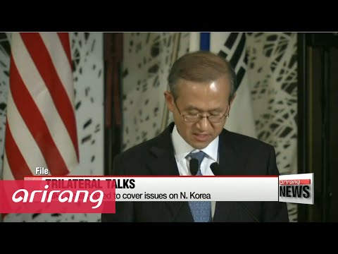 S. Korea-U.S.-Japan plan on holding trilateral talks