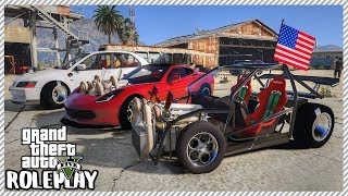 GTA 5 Roleplay -'INCREDIBLE' Quad Turbo Corvette Drag Beats Everything | RedlineRP #275