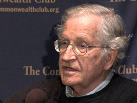 Noam Chomsky Compares Right-Wing Media to Nazi Germany