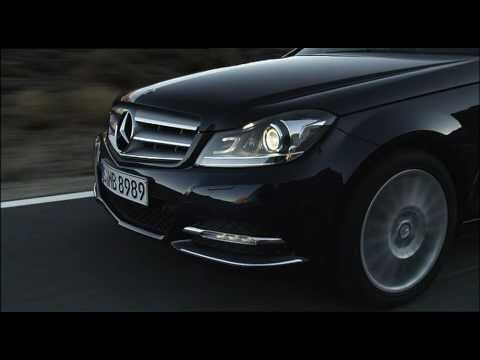 All new Mercedes C-Class 2011 Driving
