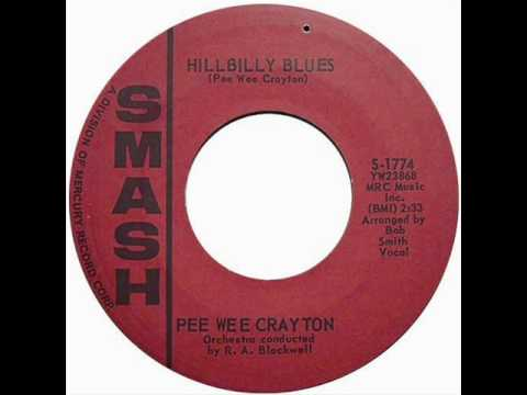 PEE WEE CRAYTON - Hillbily Blues ~Exotic Blues~