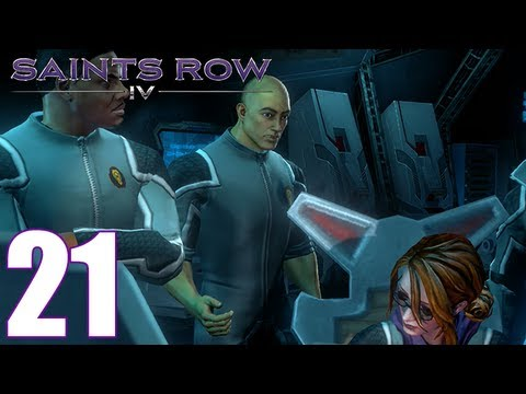 Saints Row IV Walkthrough Part 21 Gameplay Let's Play