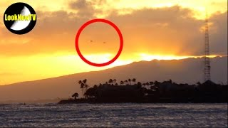 Best UFO Sightings Flying Saucers Unidentified Flying Objects April 2015 HD