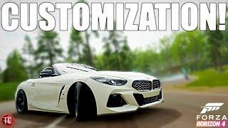 Forza Horizon 4: NEW Supr... I mean 2019 BMW Z4!! FULL CUSTOMIZATION & DRIFT BUILD