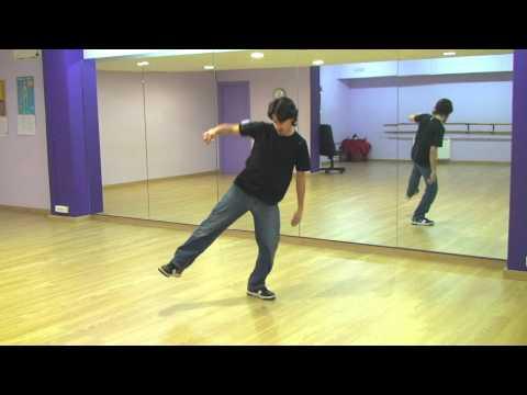 Break Dance Hip Hop  How To Basic Step Tutorial Como Aprender Pasos video