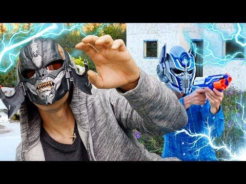Хэллоуин вечеринка Трансформеров - Пропал шлем Мегатрона!