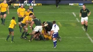 Ben Alexander vs Springboks