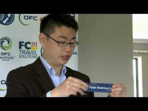 2013 OFC Champions League Preliminary Draw