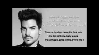 adam lambert - if i had you مترجمة