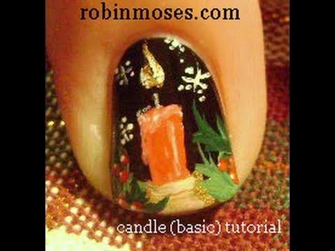 BASIC CHRISTMAS CANDLE design