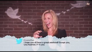 Friends cast read mean tweets.